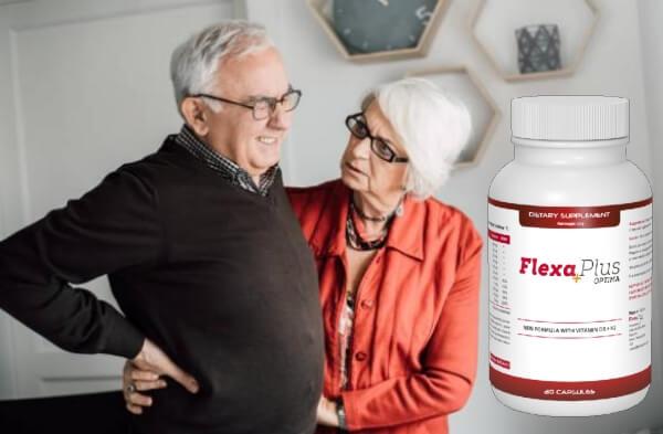 Flexa Plus Optima, възрастна двойка с болки в ставите