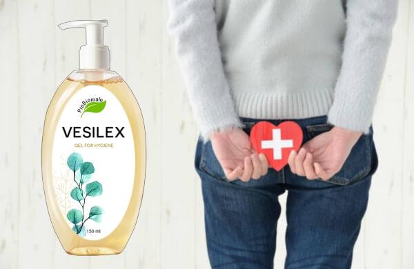 Vesilex, жена с хемороиди