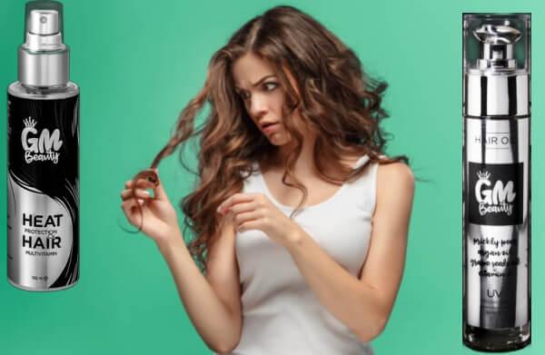 GM Beauty Hair Spray Oil, съсипана коса