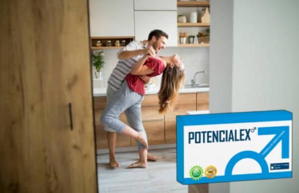 Potencialex, мъж и жена танцуват