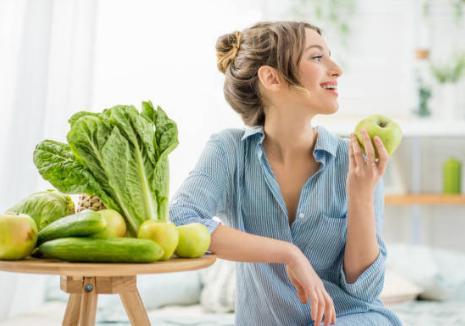 зеленчуци, жена