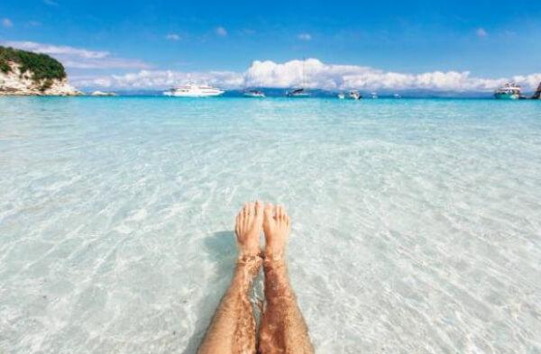 крака, море
