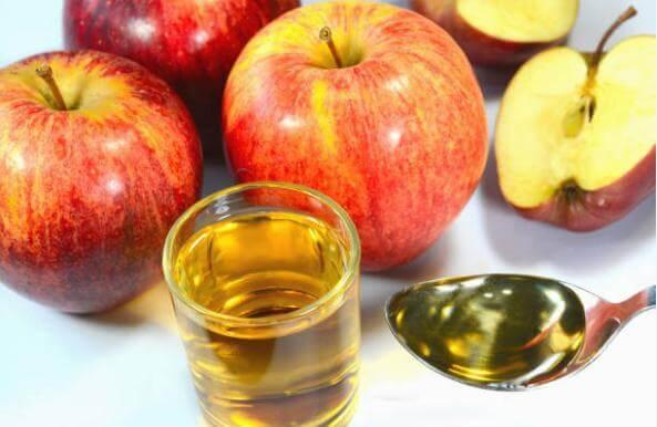 ябълки, оцет