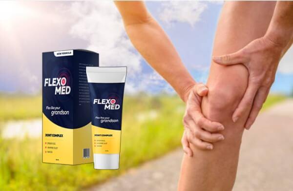 Флексомед гел, болки в коляното