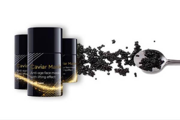 caviar mask, хайвер