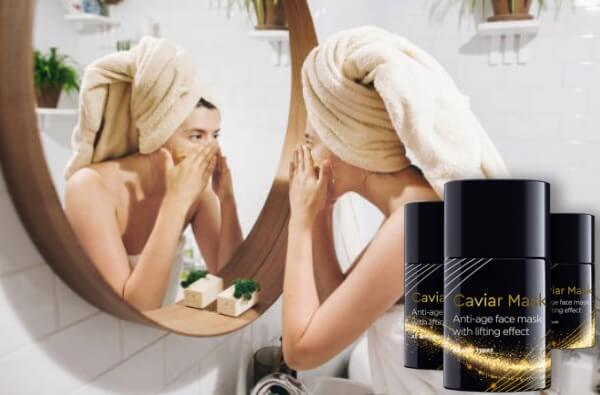 жена, маска Caviar Mask