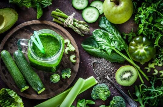зелени плодове и зеленчуци