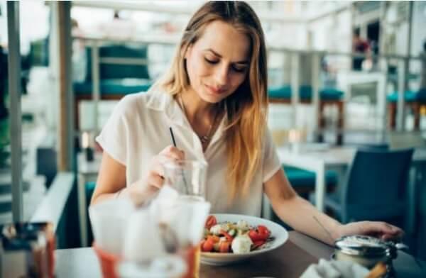 жена, средноземноморска диета