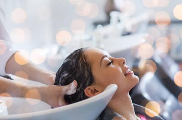 жена, масаж