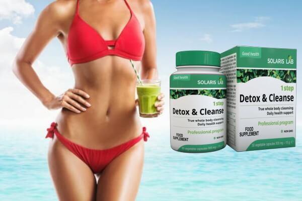 отслабване, детокс, 1 step detox & cleanse