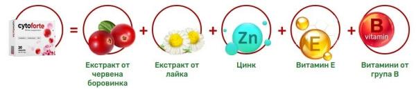 цитофорте, съставки