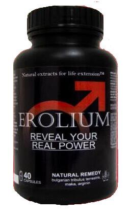 Erolium Forte Max бутилка капсули за потентност България
