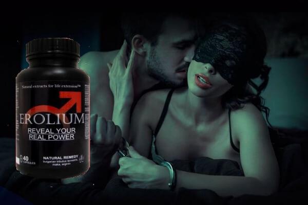 Erolium таблетки, ерекция