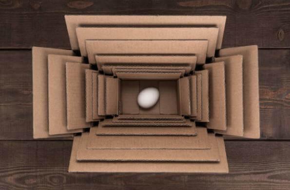 яйце, кутии