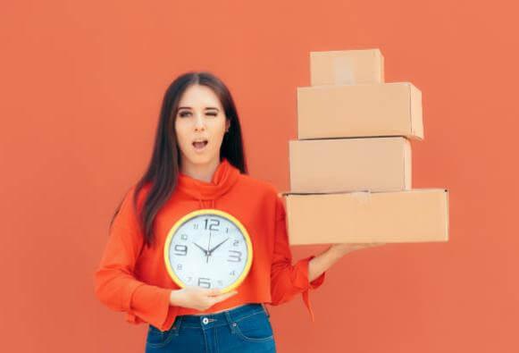 връщане, продукти, часовник