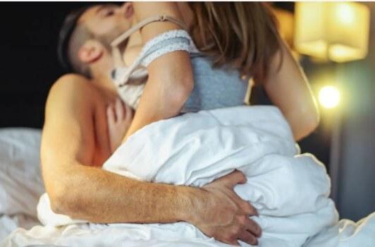 секс, двойка, легло, интимност