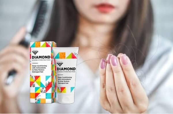 Diamond Mask, коса, косопад, жена