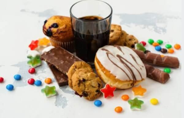 лоши въглехидрати, газирана напитка, сладко