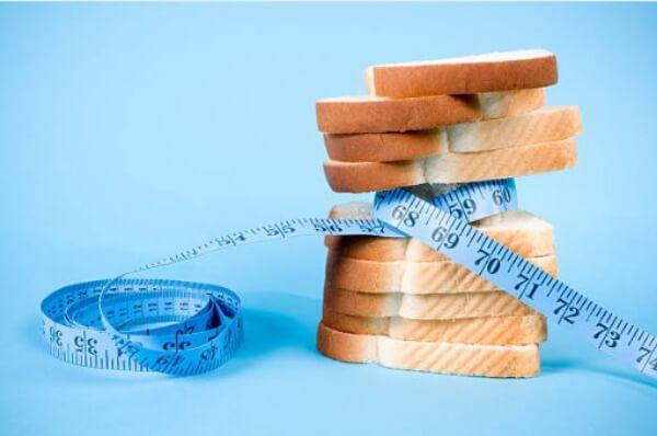 хляб, сантиметър