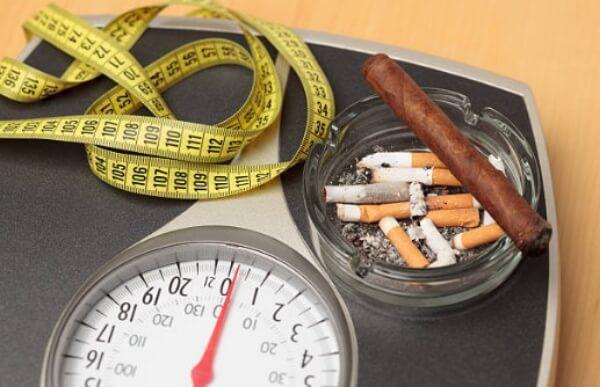 диета с цигари