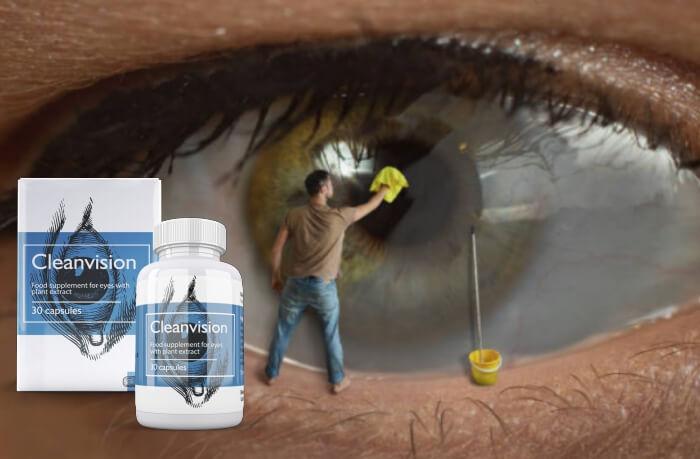cleanvision капсули, очи, зрение
