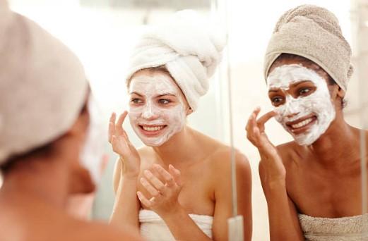 домашни козметични маски, лице, момичета, кърпи