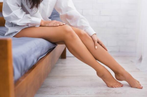 жена, крака