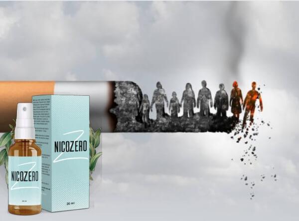 nicozero спрей, цигари