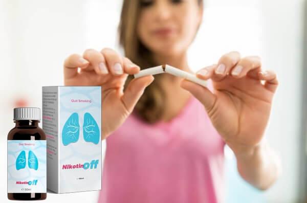 nikotinoff капки, отказ от цигари, тютюнопушене