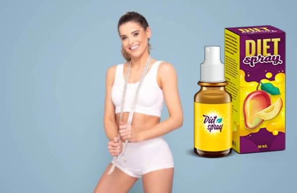 diet spray, жена, отслабване