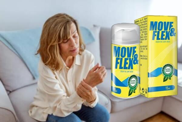 жена, болки в стави, move&flex