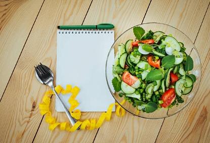 диета, салата