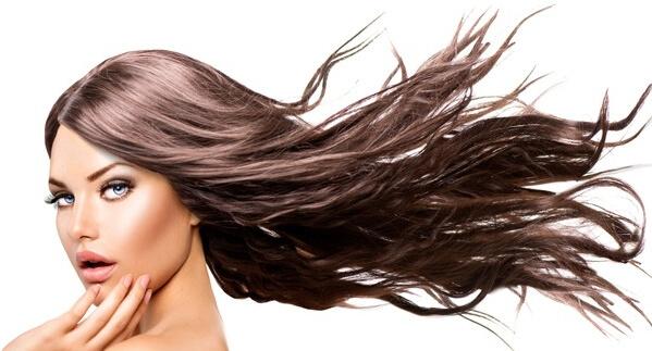 дълга развята коса