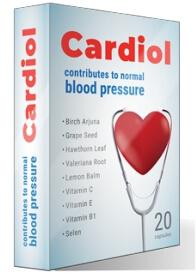 Cardiol за хипертония България 20 Капсули