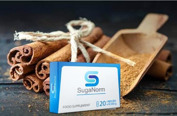 SugaNorm състав, канелени пръчици