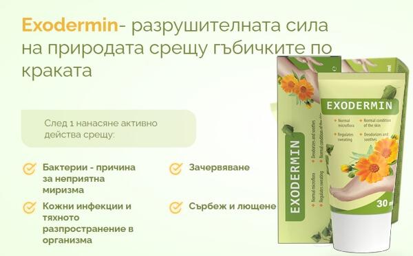 крем екзодермин