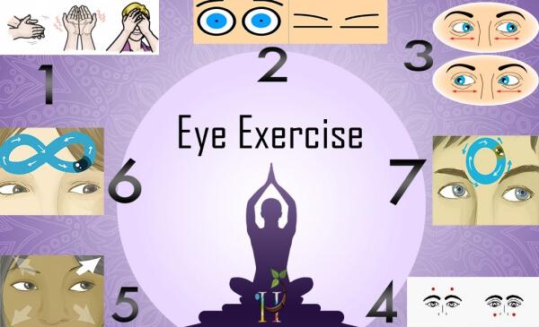 Йога-Упражнение за Очи