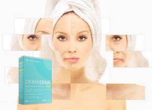 Dermisena – хапчета за вътрешен прием за изглаждане на кожата на супер цена