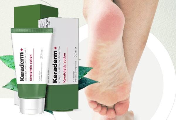 Keraderm Plus за гъбички ефект и резултати